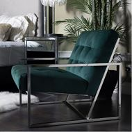 ROLD armchair microfibre green