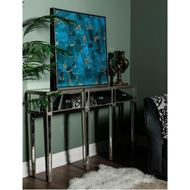 AINA console 161x38 clear/gold