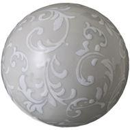SORA ball decoration d11cm grey/white