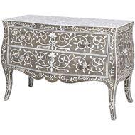 SIRHI chest 2 drawers grey
