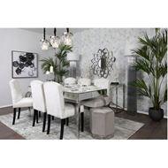SIA floor lamp h185cm white/silver