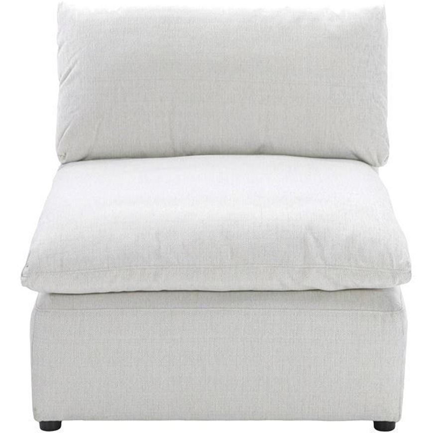 MOONLIGHT armless chair white