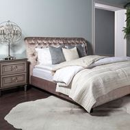 ROCKY bed 180x200 taupe