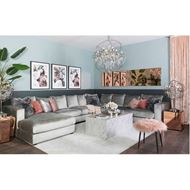 READ chaise lounge Left grey