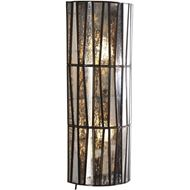 RING wall lamp h60cm clear/copper