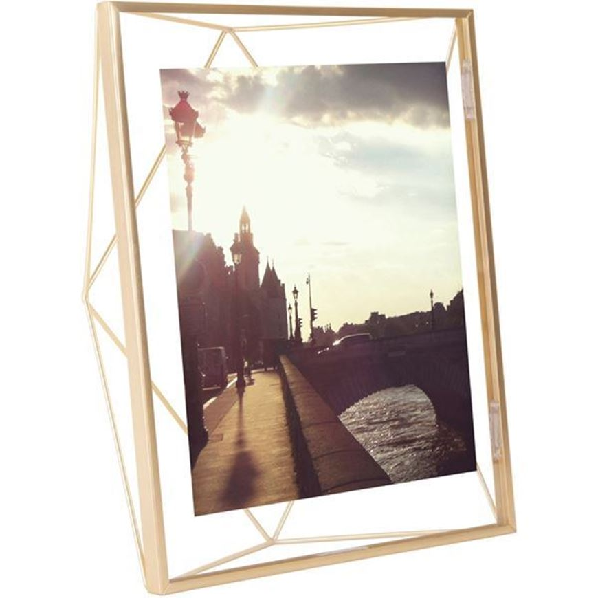 PRISMA photo frame 20x25 brass
