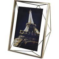 PRISMA photo frame 13x18 brass