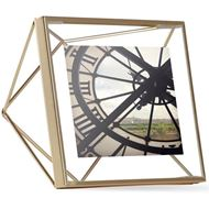 PRISMA photo frame 10x10 brass