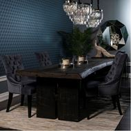 TRIBE dining table 214x102 black