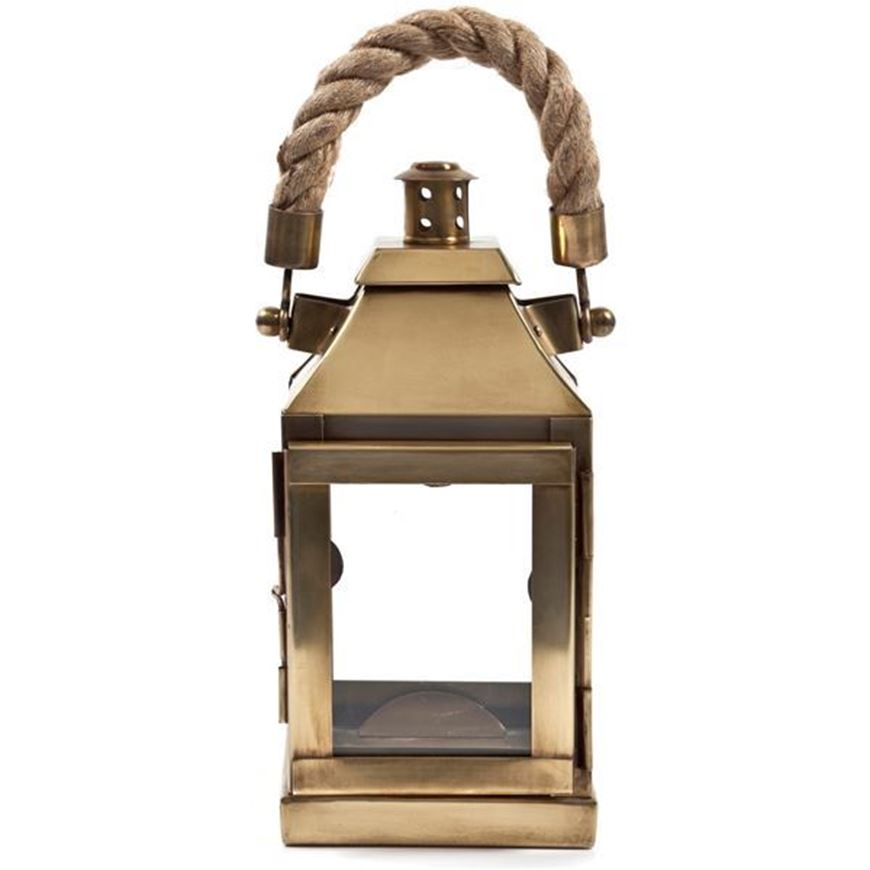 NICOLAS lantern h27cm gold