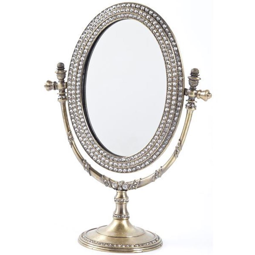 MEILING mirror 18x25 gold