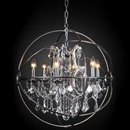 MAIL chandelier d69cm stainless steel