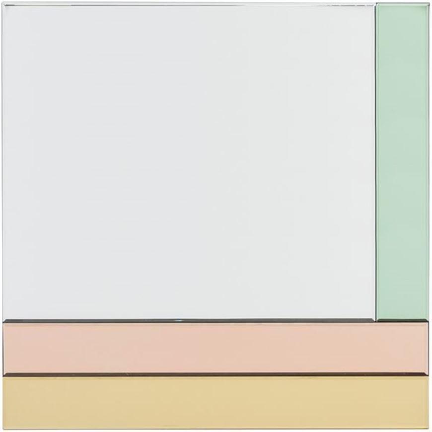 INSIDE mirror 80x80 multicolour