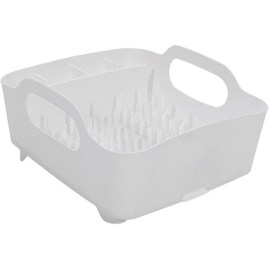 TUB dish rack white