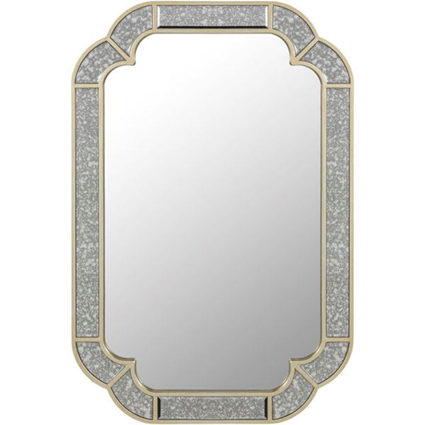 Picture of SALMI mirror 90x60 clear/gold