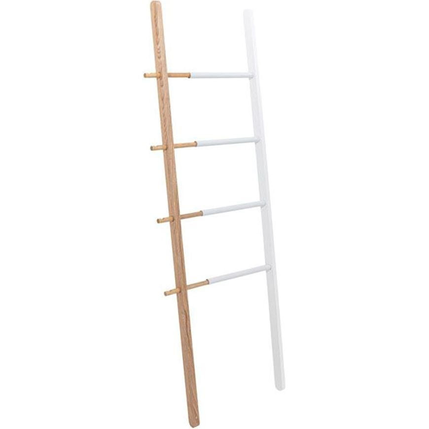 Picture of HUB ladder h152cm white/natural