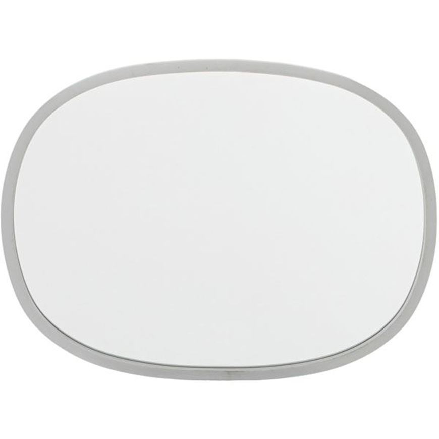 Picture of HUB mirror oval 61x46 grey