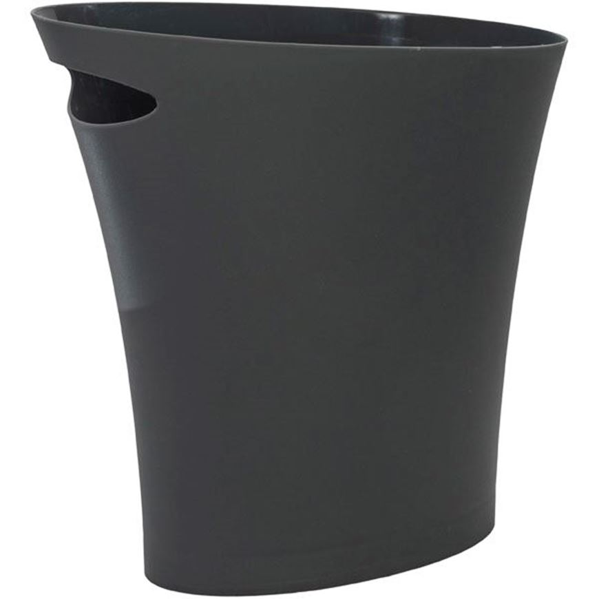 Picture of SKINNY waste can dark grey