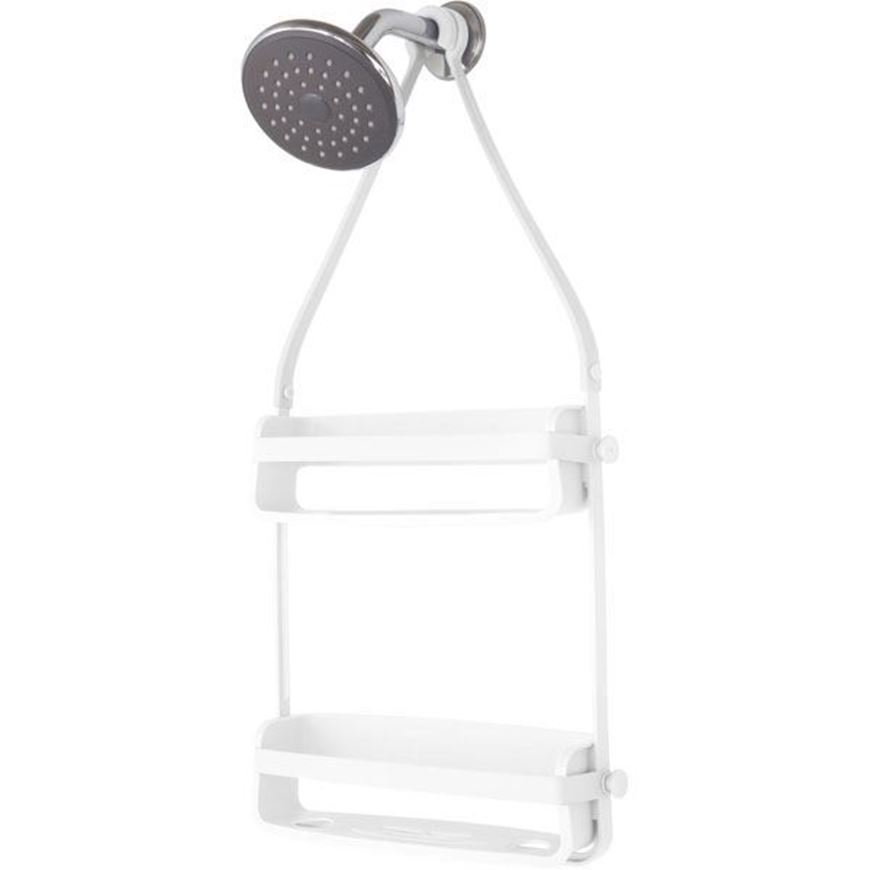 FLEX shower caddy white