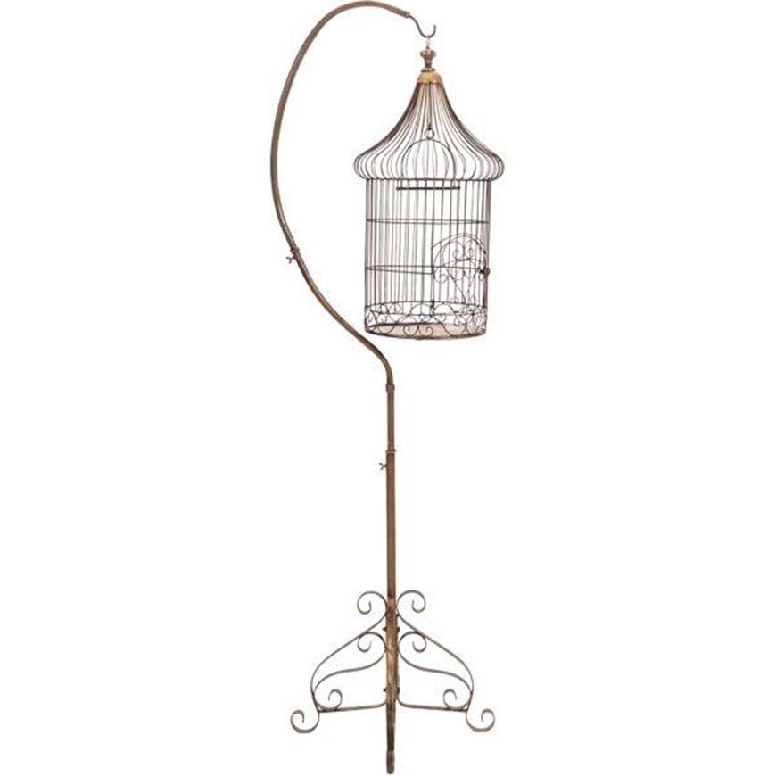 EMERY bird cage h207cm gold