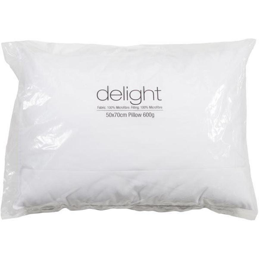 DELIGHT pillow 50x70 600g white