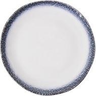 ZHAI dinner plate d26cm white/black