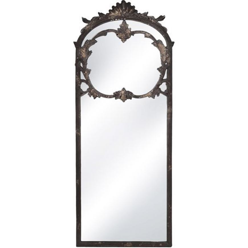 ORSON mirror 185x74 black