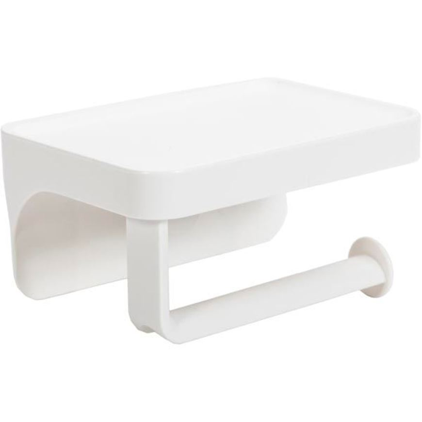 FLEX sure-lock toilet paper holder with stand white