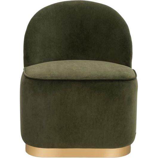 MIA dressing table chair green