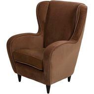 GAUDI wing chair light brown