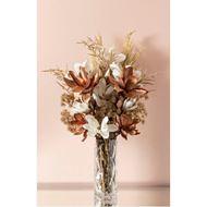 VELVET magnolia stem h86cm white