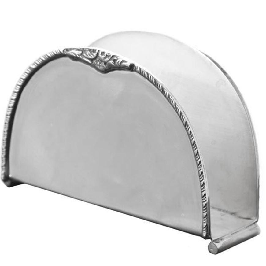 ALONA napkin holder silver