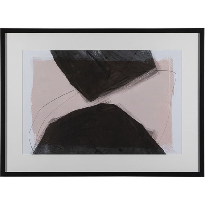 Picture of SECRETS of Significance III print 88x64 black