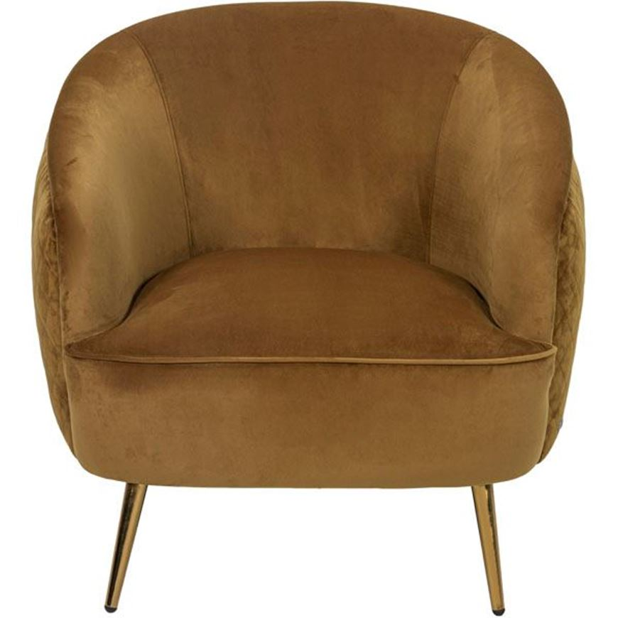 PERA armchair brown