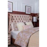 OCHRE duvet cover set of 3 pink