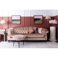 DORIS floor lamp h155cm beige
