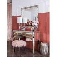 LINA dressing table 125x54 clear/gold