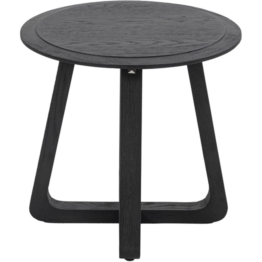 Picture of MIU side table d53cm black
