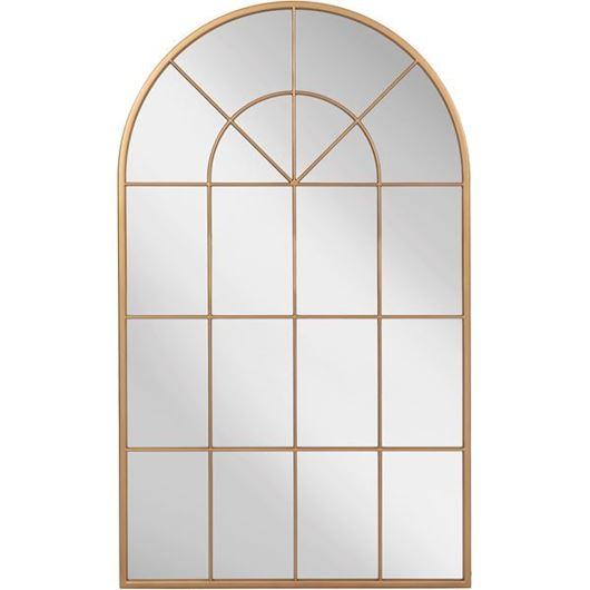MONE mirror 150x90 clear/gold