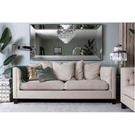 EEMAN cushion cover 45x45 gold