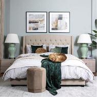 RIAAN cushion cover 45x45 light green