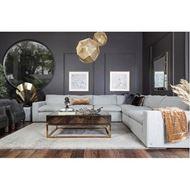 MOONLIGHT armless chair grey