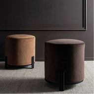 TRIGAS stool d42cm dark brown