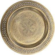 TRISH tray d50cm brass