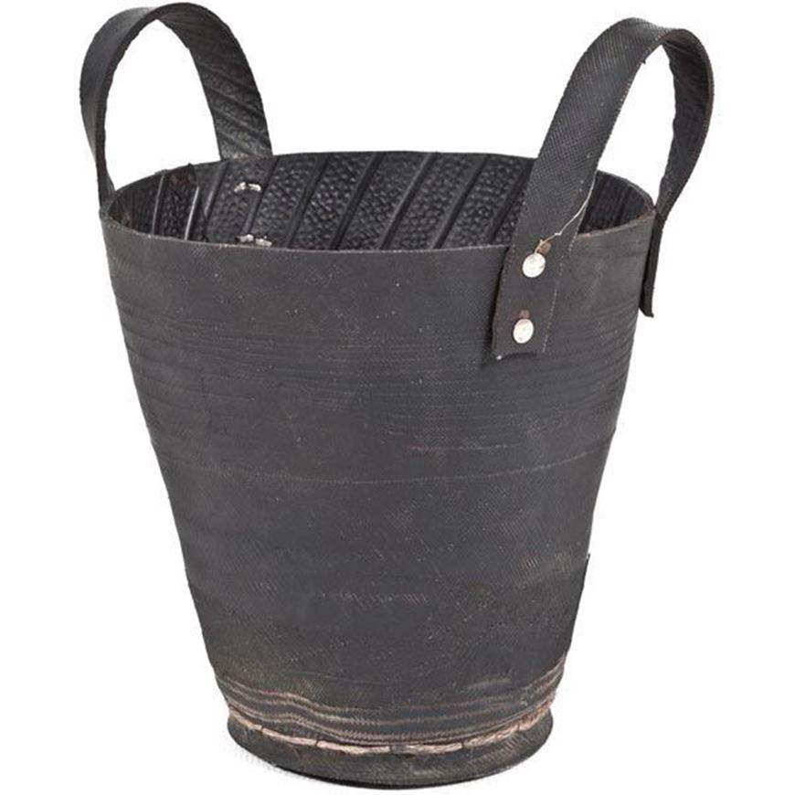 TIRO planter with handle h30cm black