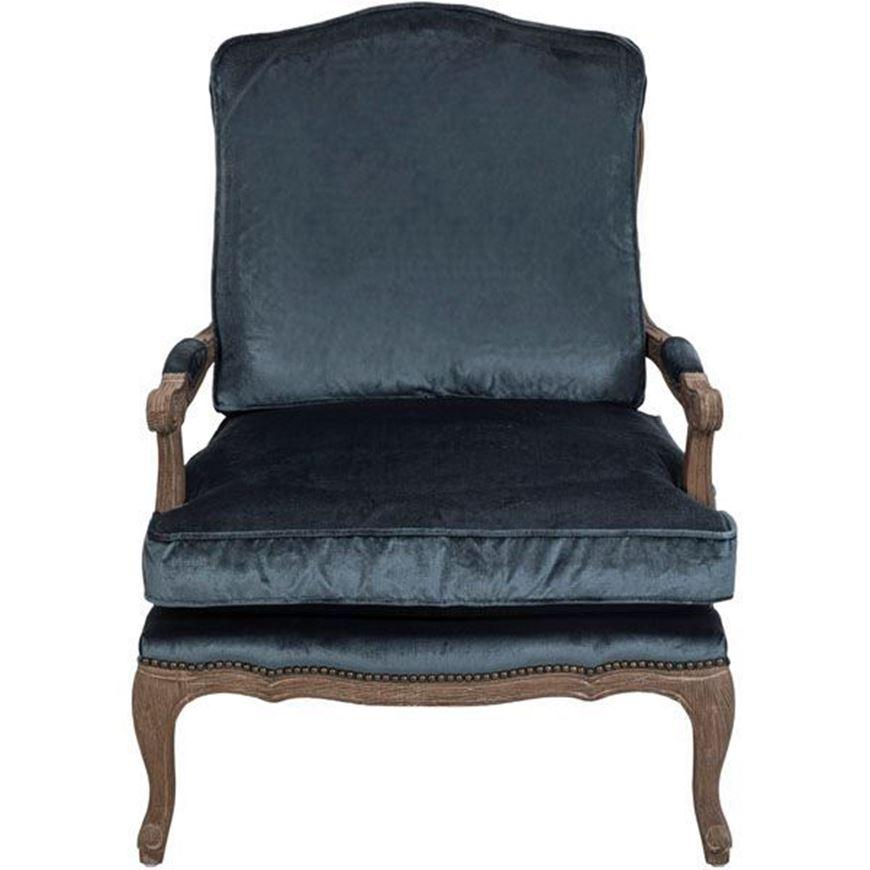 KASE armchair blue