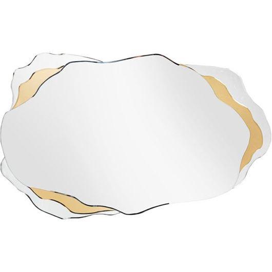 LOWA mirror 120x74 clear/gold