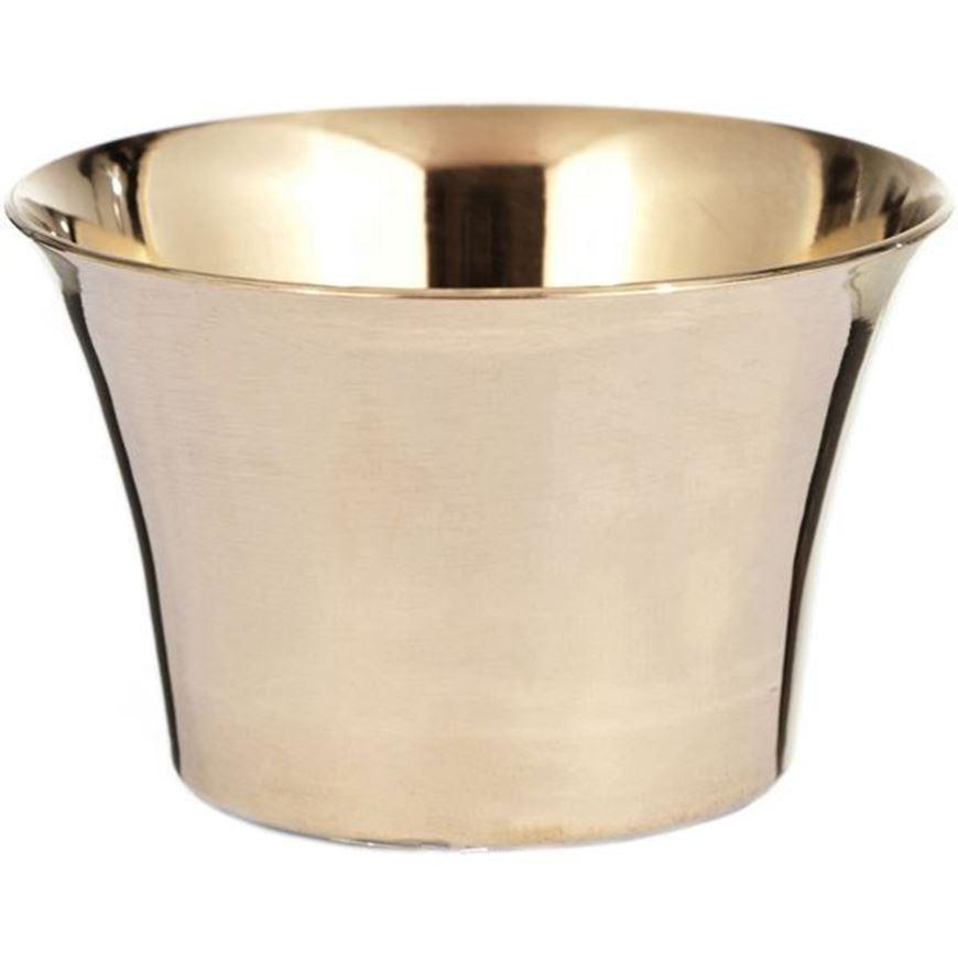 JANAI tea light holder h4cm gold