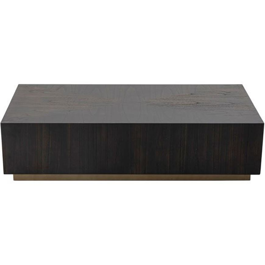 KYOTO coffee table 120x60 grey brown