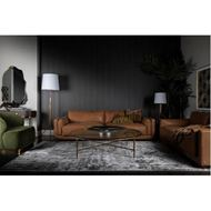 KOMU floor lamp h170cm white/brass